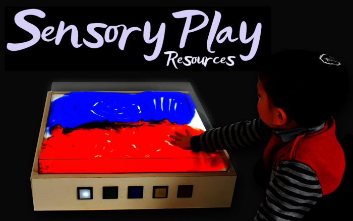 sensory play resources