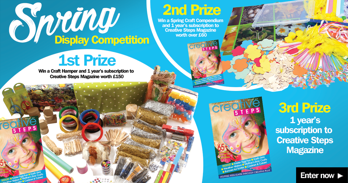 spring display competition prizes