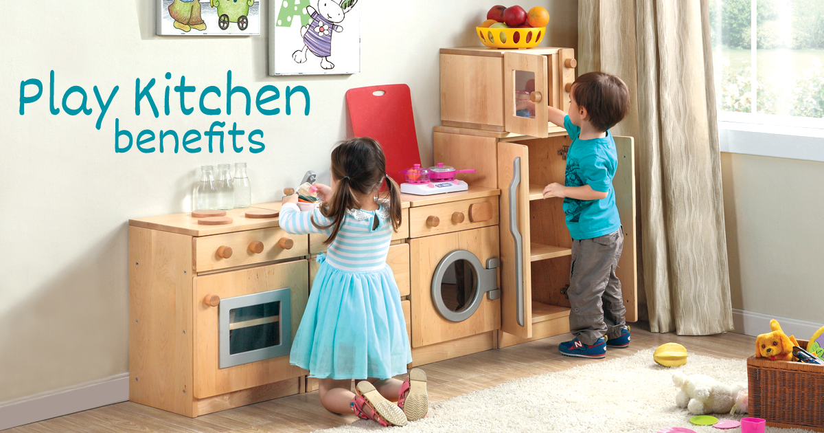 Play Kitchen Benefits For Children Eyr
