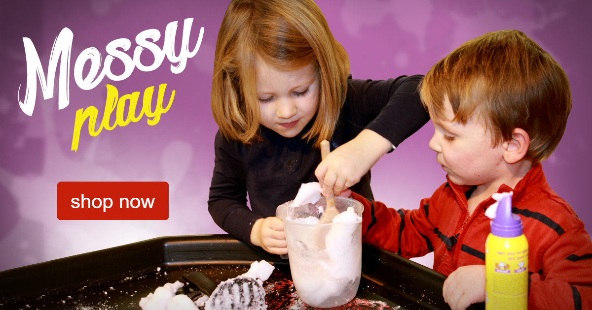 messy play resources