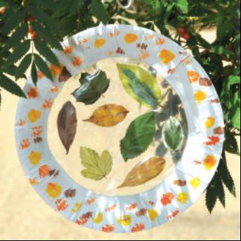 Suncatcher autumn crafts