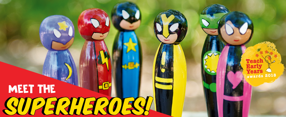 Superpower Superhero Set Anne Rodgers Review