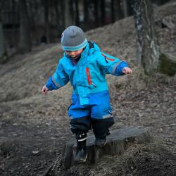 risky play outdoors log