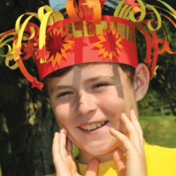 firework crown bonfire crafts