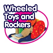 Wheeled Toys and Rockers