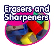 Erasers & Sharpeners