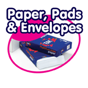 Paper, Pads and Envelopes