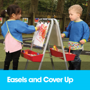 Easels and Cover Ups
