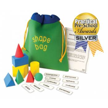Win an Award Winning Maths Shape Set