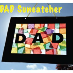 Dad Suncatcher – Father's Day Crafts