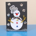 Make a Snowman Christmas Card