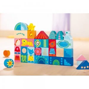 Wooden Imagination Building Blocks