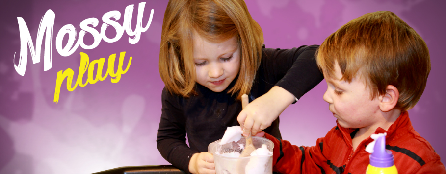 messy play ideas activities