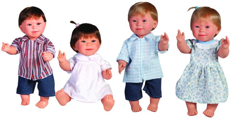 dolls with downs syndrome