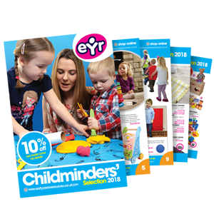 Childminder-selection 2018 catalogue