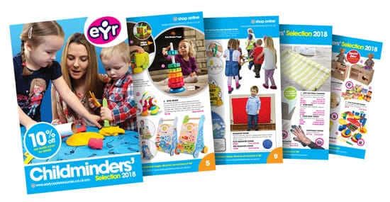 Childminders selection 2018 catalogue spring edition