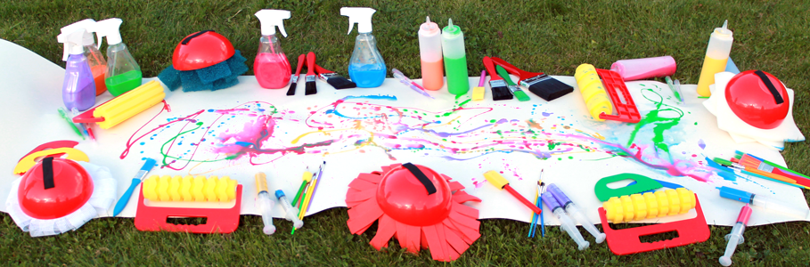 outdoor mark making kit