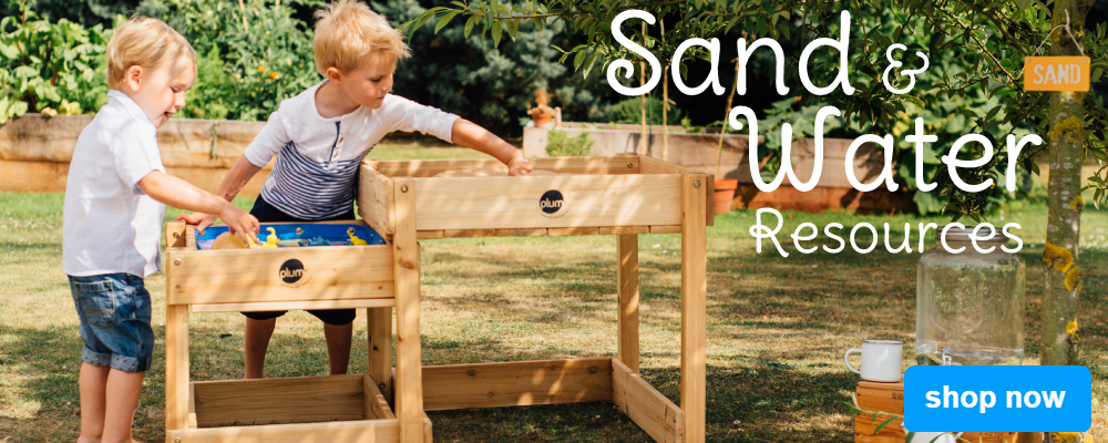 sand and water play resources equipment