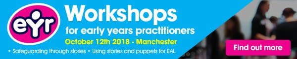 eyr workshops for early years practitioners