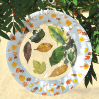 Suncatcher autumn crafts