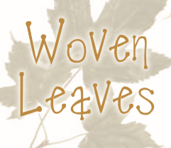 woven leaves autumn crafts