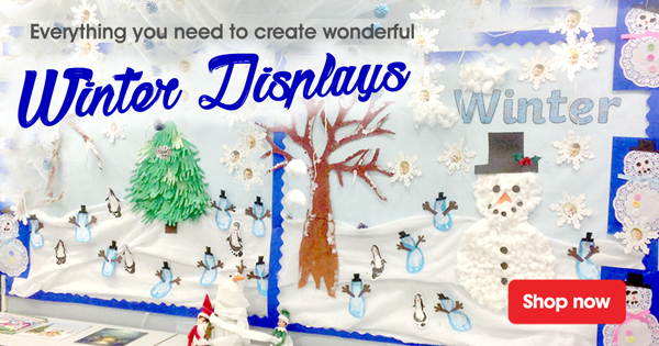 winter display christmas craft resources