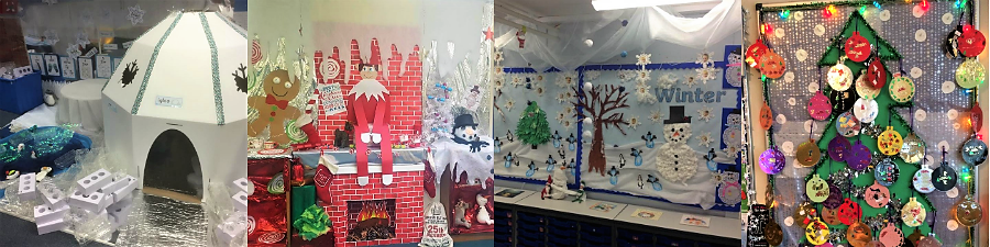 winter display primary schools