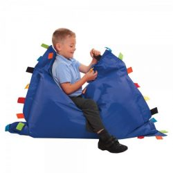 sensory touch bean bag