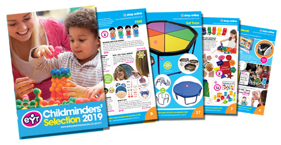 childminders selection 2019 catalogue - request a free copy