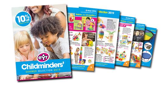 childminder catalogue request