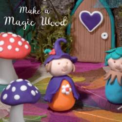 Make a magic wood autumn crafts