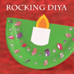 Rocking Diya diwali crafts