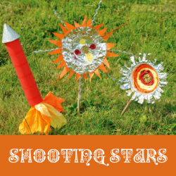 shooting stars bonfire crafts