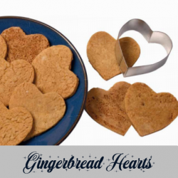 gingerbread heart cookies recipe