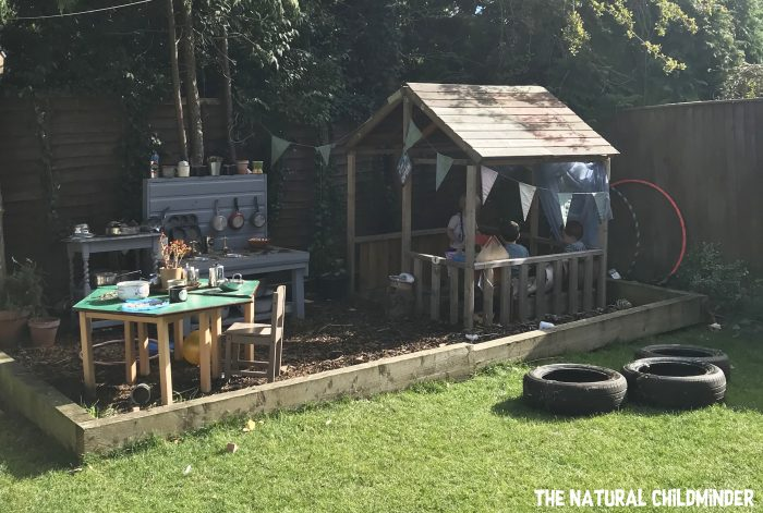 childminders setting the natural childminder garden outdoor play