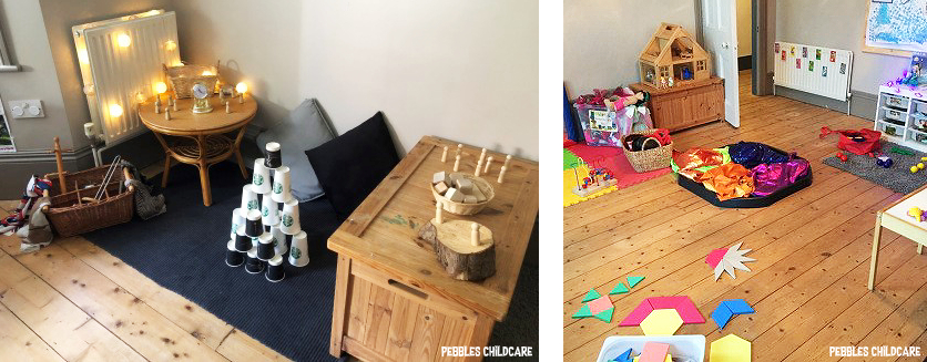 childminders setting pebbles childcare playroom
