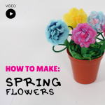 spring flowers craft activity