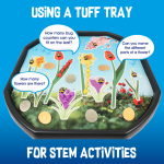 STEM Tuff Tray Activities for Early Years for british science week
