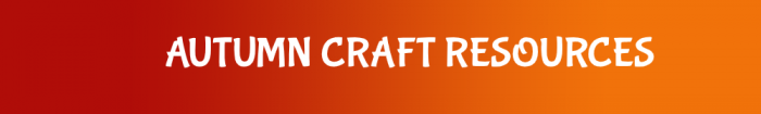 link to autumn crafts