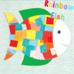 Rainbow Fish - animal crafts