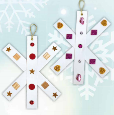 Symmetry Snowflakes - Winter Crafts