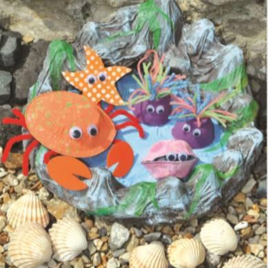 Rock Pools - Summer Arts and Crafts