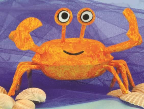 Crazy Crab - Summer Crafts