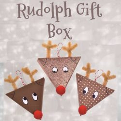 Rudolph Gift Box - Christmas Crafts