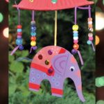 diwali umbrella elephant crafts