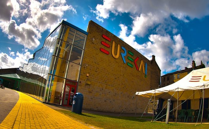 The exterior of Eureka! The National Children's Museum in Halifax