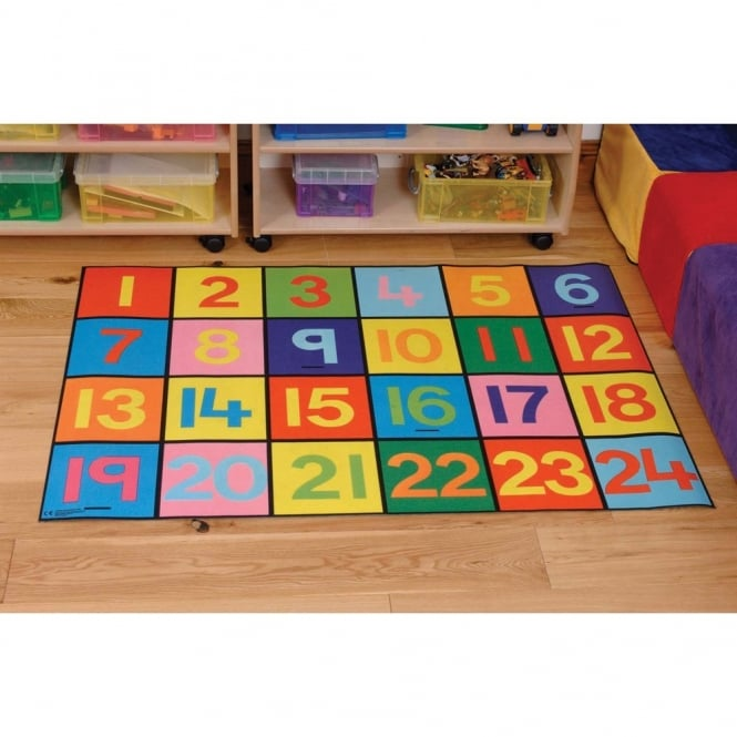 1-24 Numbers Play Mat