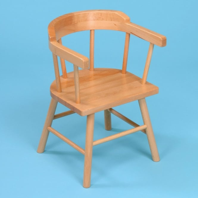 2 X Wooden Children S Captains Chairs Furniture From