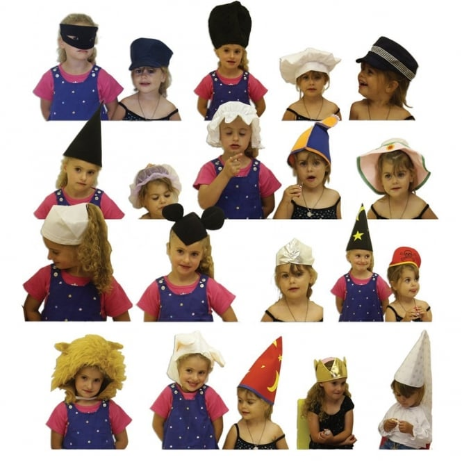 20 Dressing Up Hat Pack
