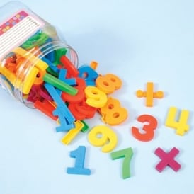 3.4cm Magnetic Numbers (54 Pieces)